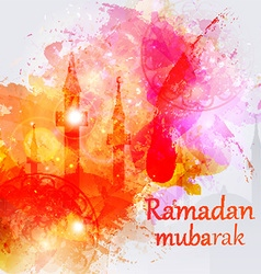 Ramadan kareem celebrations vector