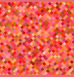 Red square pattern background - graphic vector