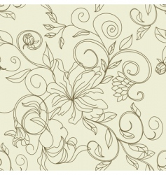 Retro seamless pattern vector