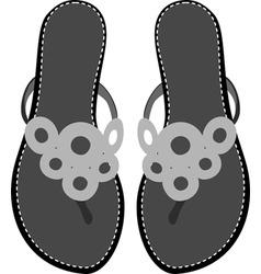sandals vector image vector image