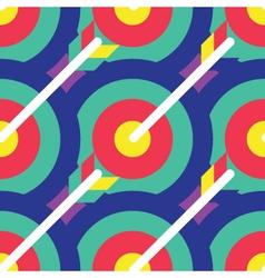 Seamless archery pattern archery pattern vector