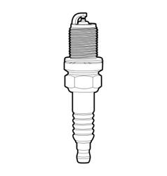 Spark-plug vector