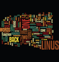 Your words matter text background word cloud vector