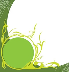 Green icon for design vector