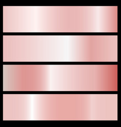 Collection of pink gradients vector