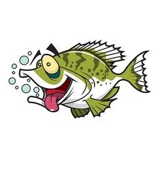 Crappie fish vector