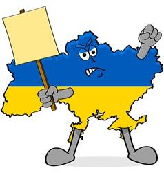 Ukraine protests vector