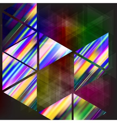 Abstract background-geometric composition with vector