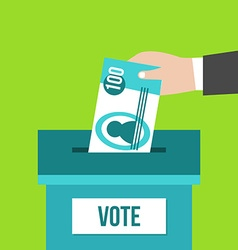 Voting box vector
