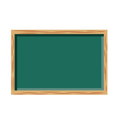 chalkboard school isolated icon vector image