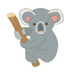 Koala icon cartoon style vector