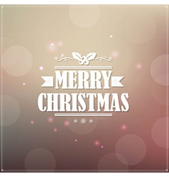 Retro Christmas Banner vector image