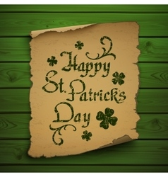 Happy st patricks day background vector