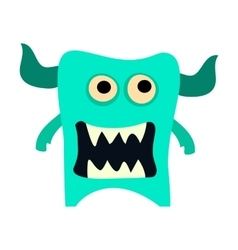 Cartoon monsters set colorful toy cute monster vector