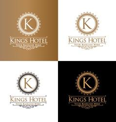 Kings hotel vector