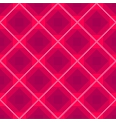 Seamless background with rhombus pink vector image