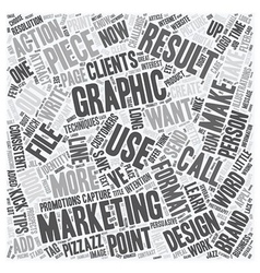 Capture clients with words that hook and graphics vector