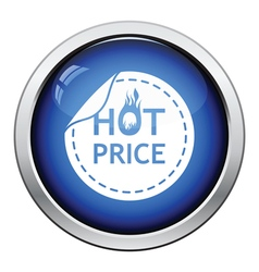 Hot price icon vector