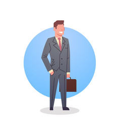 business man icon boss team leader occupation vector image vector image