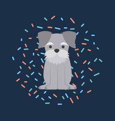 i love dog life vector image vector image