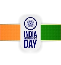 India independence day greeting banner vector