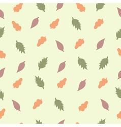 pattern leaf1 vector image vector image
