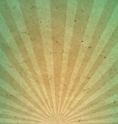 Vintage Sunburst Paper vector image