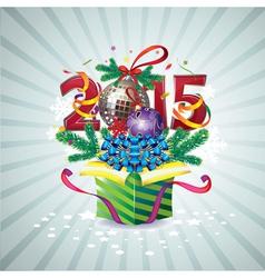 2015 box vector image