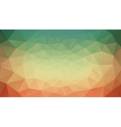 Green yellow and red abstract background vector