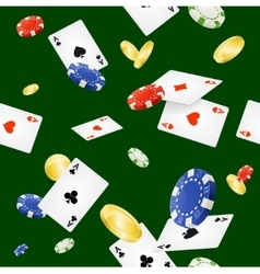 Casino background seamless vector