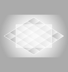 abstract background with geometric figures vector image vector image