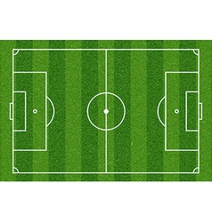 Football field top view vector