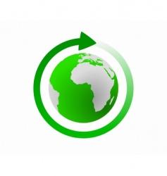 global cycle vector image vector image