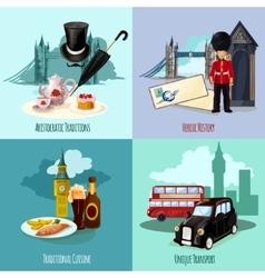 London touristic set vector