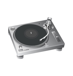 Turntable 2 vector
