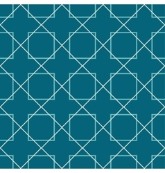 Seamless pattern blue background vector
