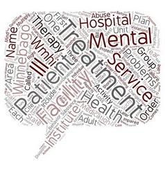 Winnebago mental health institute 1 text vector