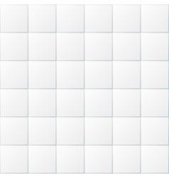 White bathroom tiles ceramic kitchen floor vector