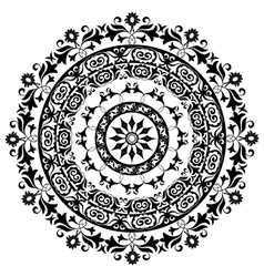 Circle ornament vector