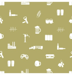Beer icon pattern eps10 vector