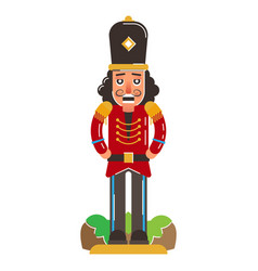 nutcracker figure vector image