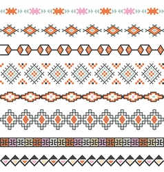Seamless pattern for tribal design ethnic motif vector