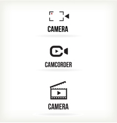 Set of symbols for video vector