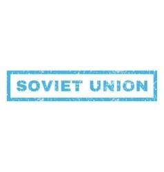 Soviet union rubber stamp vector