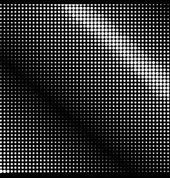White dots on black background retro style vector