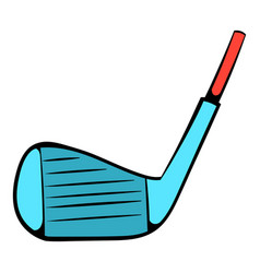 golf club icon icon cartoon vector image