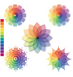 Color scale 01 vector