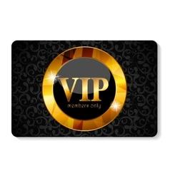 VIP Members Card vector image