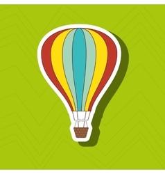 balloon air design vector image