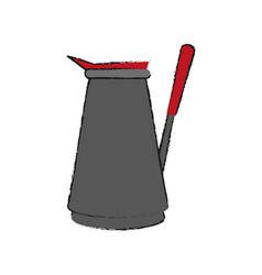 coffe maker icon vector image vector image